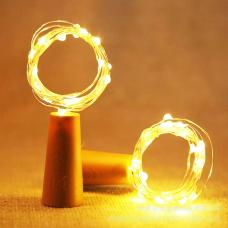 Cork Shaped LED Copper Wire String Light