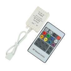 Mini RGB LED Controller 72W With 20Key RF Remote