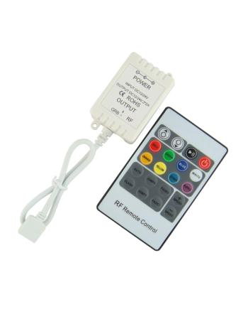 Mini RGB LED Controller 72W With 20Key RF Remote