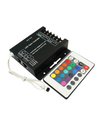 12V LED Strip Light Controller With 24Keys Remote