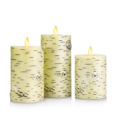 Birch Tree LED Candle Light