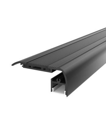 Black Aluminium LED Channel