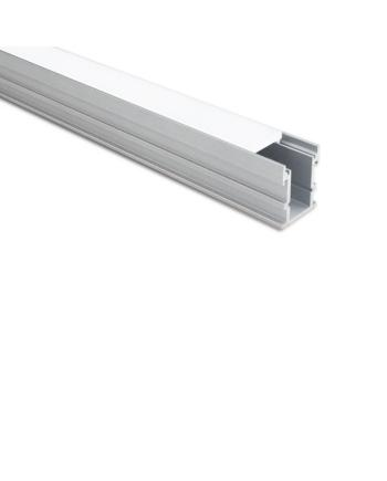 LED Extrusion Channel For Recessed Mounted In Floor