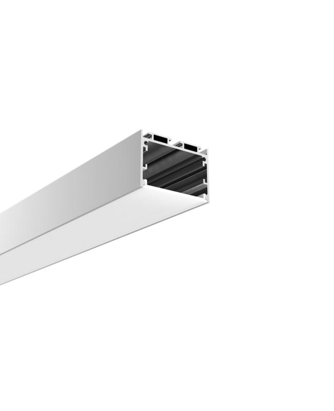 Pendant Mounted Recessed LED Extrusion