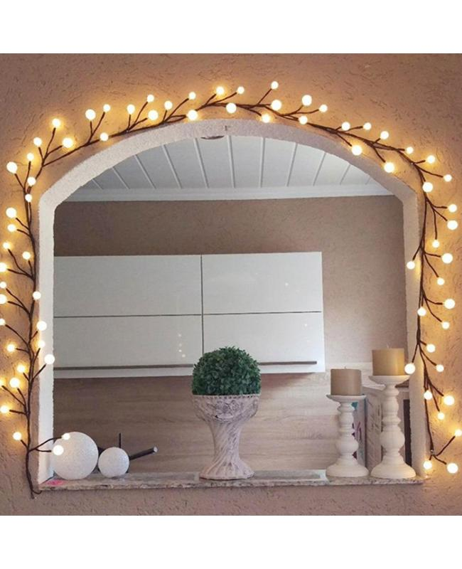 2.5M 72LEDs Ball Style Outdoor Christmas Lights