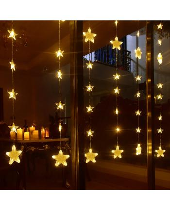 Star Style 144 PCS LED Xmas Lights With RF Remote