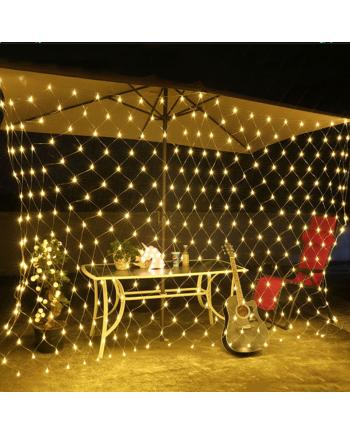 High Voltage LED Christmas Net Light