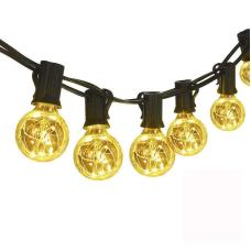 Copper Wire G40 LED Patio String Light