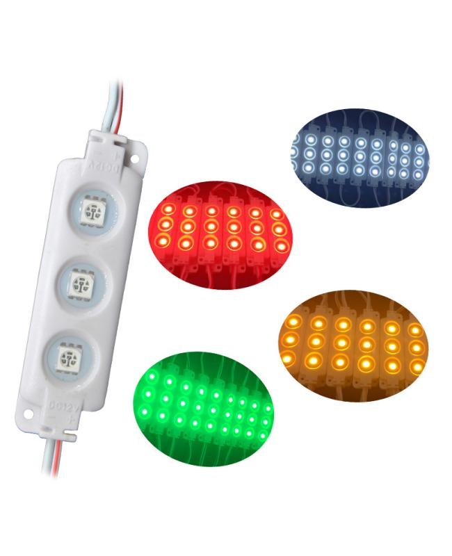 12V SMD Waterproof 3 LED Modules