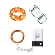 LED Wire Fairy Lights With Remote