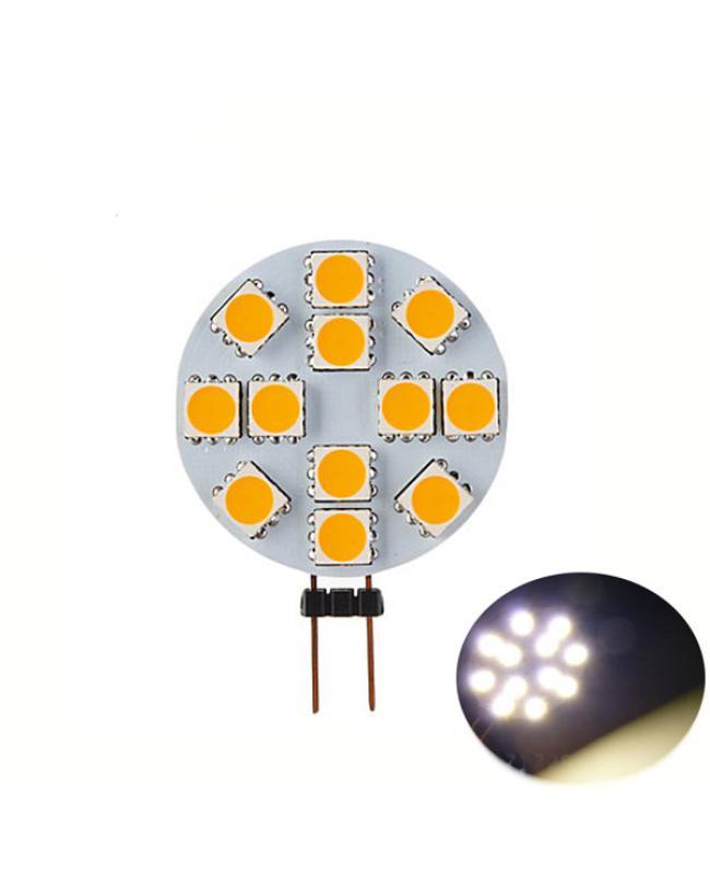 G4 Automotive LED Light Bulbs 12SMD 5050