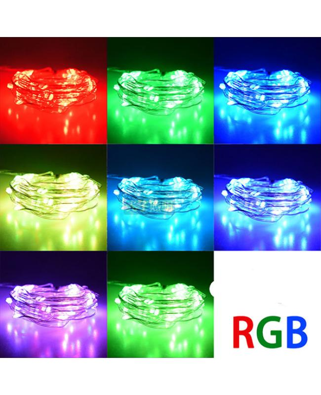 Battery Powered RGB LED String Light