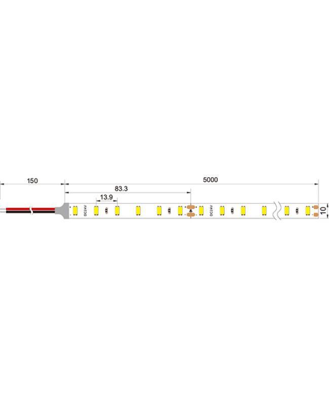 2835 240LEDs 24V LED Strip