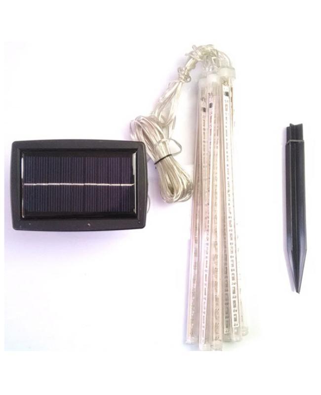 Solar LED Meteor Light 8pcs 144LEDs
