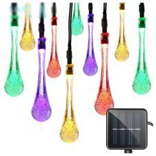 Drop Style Solar String Lights
