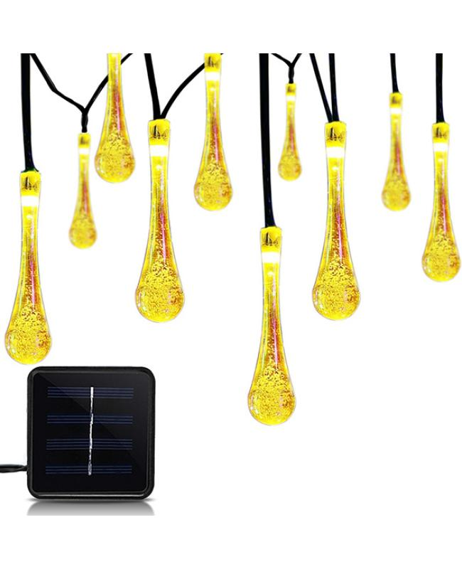 Drop Style Solar String Lights