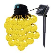Solar String Bulb Outdoor Lights