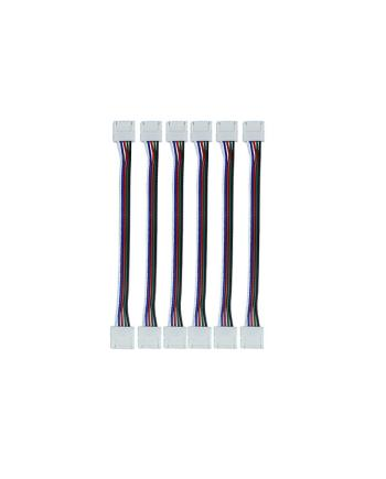 Double Side Solderless RGBW LED Connector